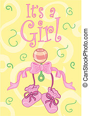 It\'s a girl! design