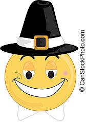 Pilgrim Face - Smilry type pilgrim face