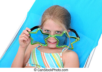 Girl Child Sunglasse