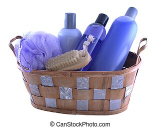 bath stuff - isolated bath products