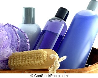 bath stuff 2 - isolated bath products