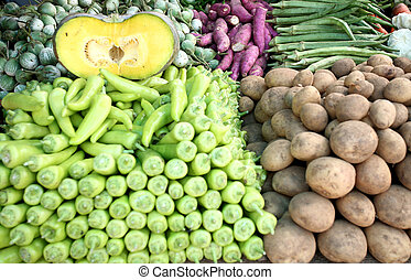 Asian vegetable display 1