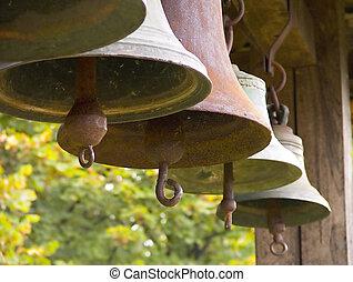Bells - Row of bells