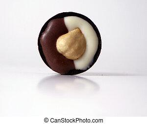Hazelnut Truffle - A Hazelnut truffle