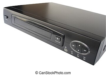 DVD Player - Black DVD Player - isolated