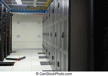 Datacenter row wit