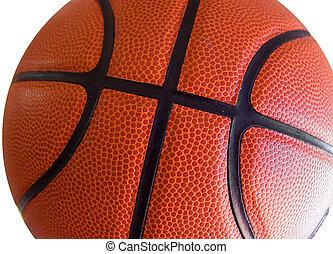 Basketball Closeup - Closeup of basketball