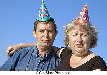 It\'s birthday! - Happy couple