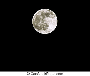 Full Moon Spring Equinox 2005 - Full Moon 25th March 2005 on...