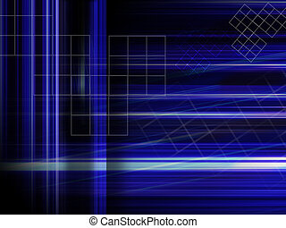 abstract blue background - blue hi-tech background