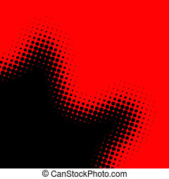 art background - red and black background