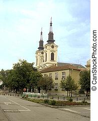 Orthodox church in Sremski Karlovci in Vojvodina -Serbia