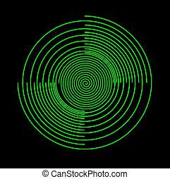 Scrolled designe - Ornate curcle scrolled designe