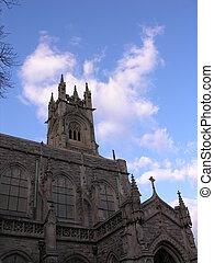 藍色, 教堂, 天空