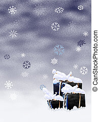 Snowy gifts