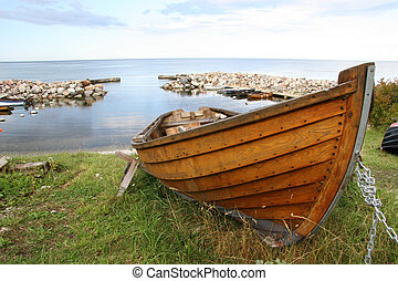 Wooden classic boat - Wooden boat
