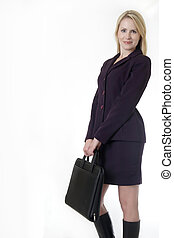 business woman - Successful blonde business woman