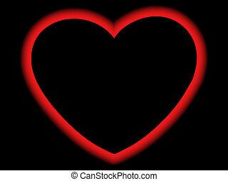 heart - Glowing heart