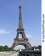 Eiffel tower - Paris, France - view of alexandar bridge