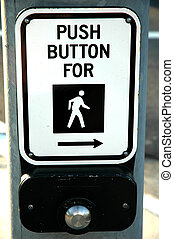 Push button - push