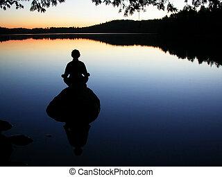 Meditation - rock