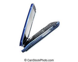 Blue laptop - laptop