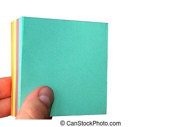 blank paper sheet