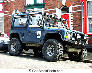 Serious jeep - Off road Land Rover
