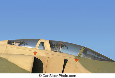 F4 canopy - The canopy of an F4 phantom.