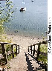 Steps to the Coastline