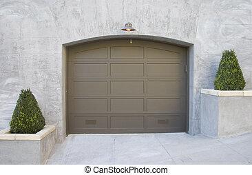 Fancy Garage - A fancy new garage.