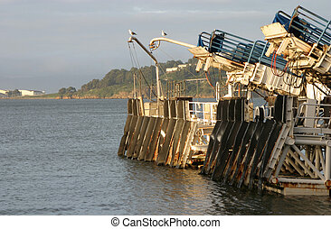 Ferry Dock - The landing for the ferry boat.