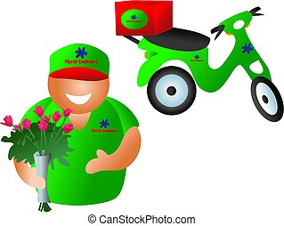 floral delivery - delivery service
