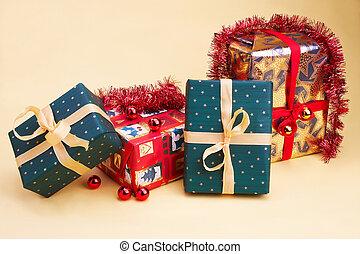Weihnachtsgeschenk - Christmas presents - vier...