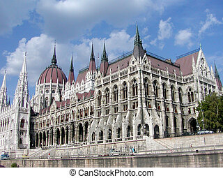 House of Parliament in Budapest, Hungary