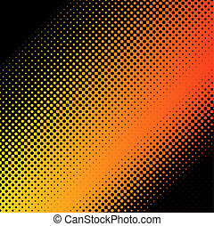 halftone dots - halftone dot background