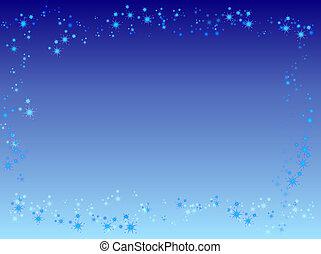 Starry border - Starry frame
