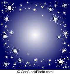 Starry border - Starry background