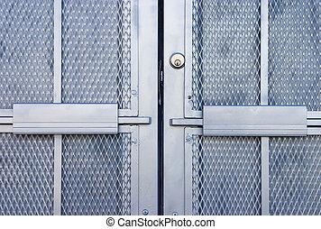 Industrial Door 1 - A very secure looking door