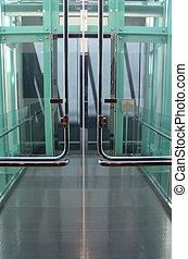 High Tech Doorway