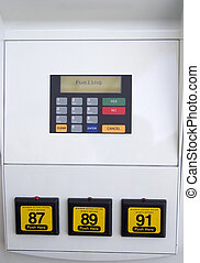 Gas Pump Closeup - A closeup of one of the banes of our...
