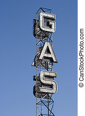 Gas Sign 2 - An industrial looking sign for a gas station...