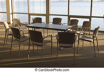 Conference Room #3 - A conference room with a view.