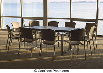 Conference Room #4 - A conference room with a view.