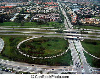 highway - Miami cross-roads and highway