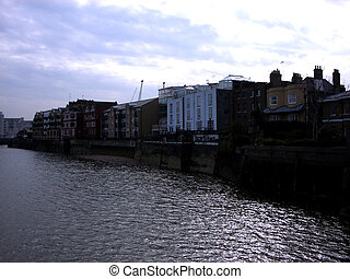 Docklands 236 - This is some of many residential buildings...