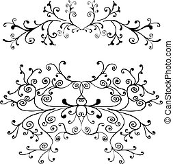 Decorative ornament - Hand drawn decorative element
