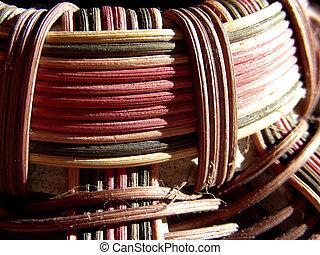 Weaving Pattern 1 - Wicker weaving pattern, details