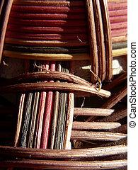 Weaving Pattern 2 - Wicker weaving pattern, details