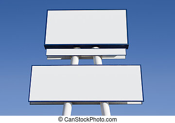 Blank Sign 2